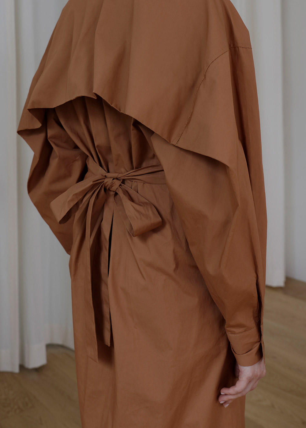 19FW Caramel one-piece