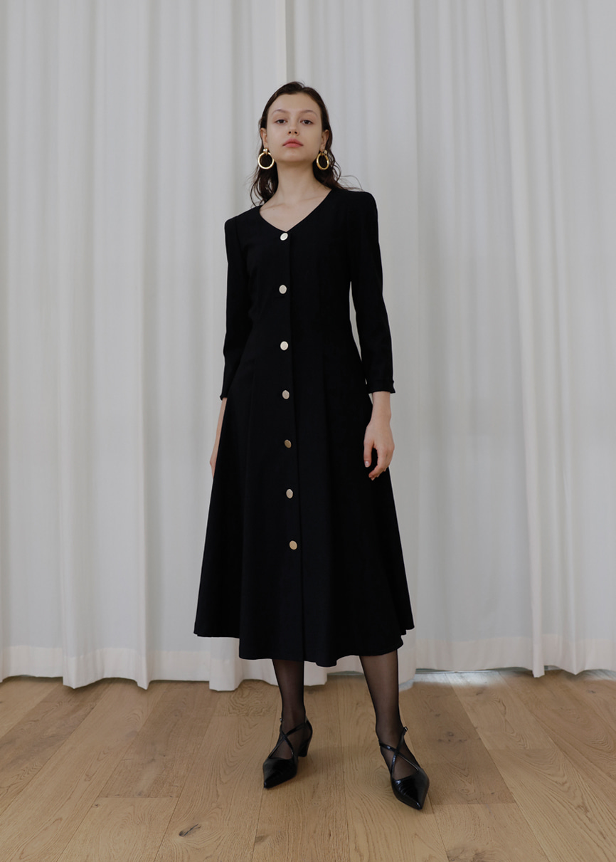 19FW Black Dress